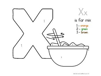 Kinder Kids - Letter Xx Bundle