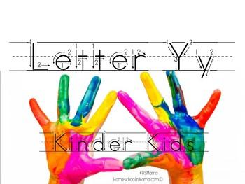 Kinder Kids - Letter Yy Bundle