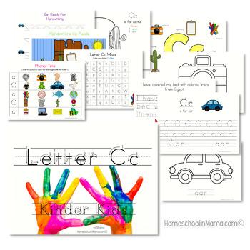 Kinder Kids - Letters A-Z Bundle