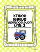 Kinder League Bundle Pack Units 1-5