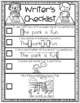 Writing Checklist by Kinder League