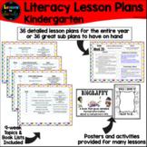 Kinder Literacy Lesson Plans