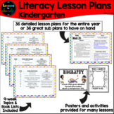 Kinder Literacy Lesson Plans