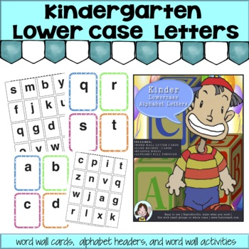 Kindergarten Lowercase Alphabet Letters