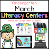 Kinder March Literacy Centers