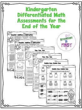 Kinder Math Assessment (K.CC.5, K.CC.6, K.OA.1)