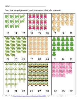 Kinder Math Bundle - Follows Envision math