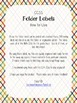 Kinder Math CCSS Folder Labels