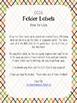 Kinder Math CCSS Folder Labels
