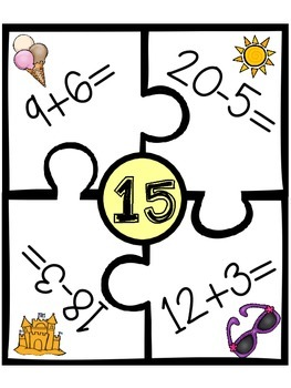 Kinder Math Centers: Quarter 4