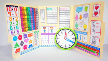 Interactive Math Notebook: Kindergarten