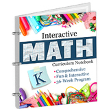 Complete Interactive Math Notebook: Kindergarten Bundle
