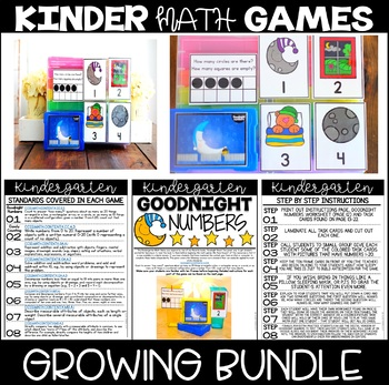 Kinder Math Games