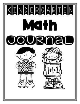 Kinder Math Journal Bundle