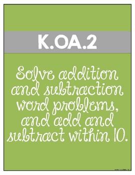 Kinder Math {K.OA.2}