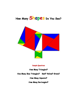 Kindergarten Math No Prep: Geometry & Measurement