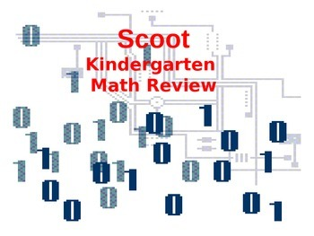 Kinder Math Scoot