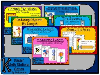 Kinder Math Station Bundle