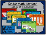 Kinder Math Station Bundle