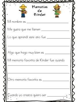 Kinder Memories, spanish Interview ( End of the Year)