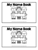 Kinder Monthly Name Booklet
