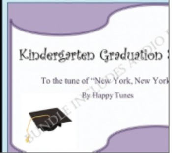 "Kinder ""New York"" Graduation Song BUNDLE. Mp3, lyrics and choreography. K"