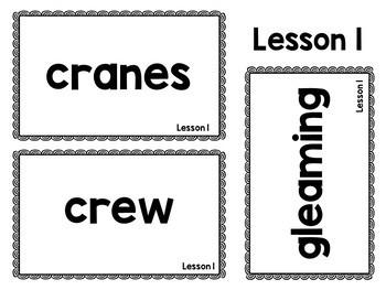Journeys: Kinder Oral Language Vocabulary Cards BUNDLE Lessons 1-30