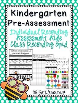 Kinder Pre-Assessment