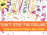 "Kinder Pre-K Graduation Song ""Can't Stop the Feeling"" Trolls parody MP3 lyrics"