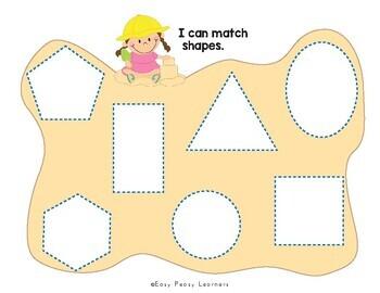 Kinder & Preschool Summer Binder Activity Book by Easy ...