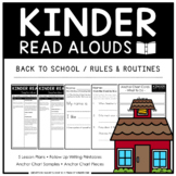 Kinder Read Alouds - Back to School / Rules & Routines -