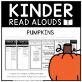 Kinder Read Alouds - Pumpkins -