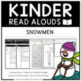 Kinder Read Alouds - Snowmen -