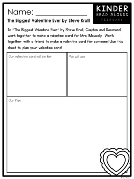 Kinder Read Alouds - Valentine's Day -