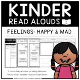 Kinder Read Alouds - Feelings: Happy & Mad -