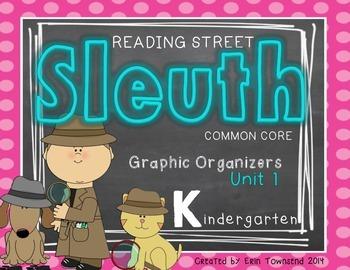 Kinder Reading Street SLEUTH Unit 1 Week 1 FREEBIE