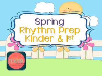 Kinder Rhythm Prep Activity (long and short)