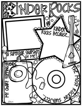 Kinder Rocks! Poster: A Rockin' Back to School Ice Breaker Activity