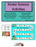 Kinder Science Activities