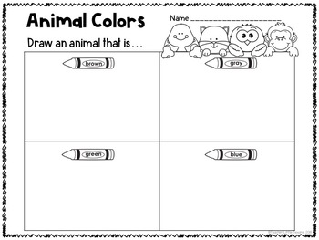 Kinder Science: Animals
