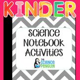 Kindergarten Science Interactive Notebook