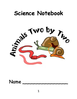 Kinder Science Notebook Template (Life Science)