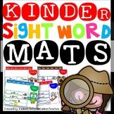 Kinder Sight Word Interactive Sentence Mats (Set 2)