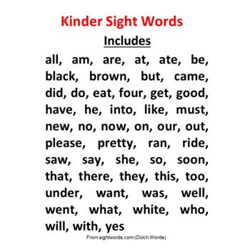 Kinder Sight Word Q-Tip Painting | 52 Dolch Sight Words | 2 Letter styles| FUN!!