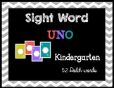 Kinder Sight Word UNO-Dolch