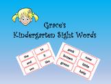 Kinder Sight Words