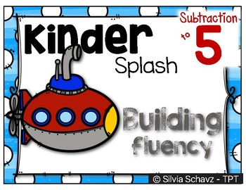Kinder Splash - A system to develop Subtraction fluency to