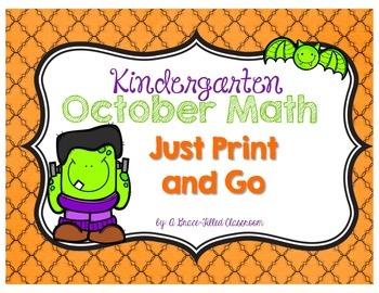 Numbers to 20: Halloween Theme (Kindergarten)