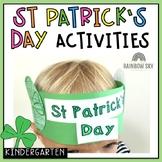Kinder St Patrick's Day Pack- Foundation, Kindergarten, PREP