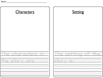 Story Organizer for Primary